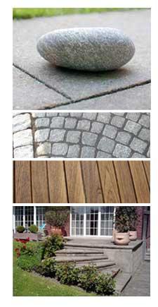 Terrassenbau und Pflasterarbeiten